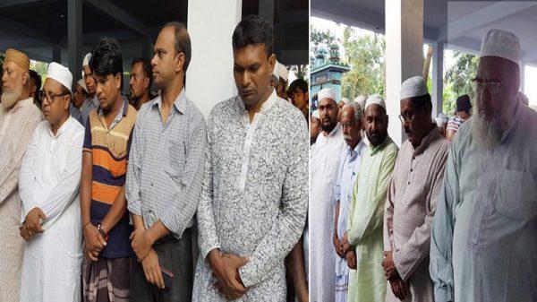 সাংবাদিক পিনু'র পিতা বদর উদ্দিন আহমদ মহারাজপুর গোরস্থানে চিরনিদ্রায় শায়িত: কুষ্টিয়া প্রেসক্লাব-কেপিসি'র শোক