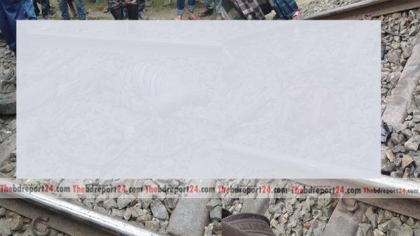 মিরপুরের কাটদহচরে অবৈধ রেলক্রসিংকালে ট্রেনের সাথে ট্রলির সংঘর্ষ, দুই ট্রলি শ্রমিকের মৃত্যু