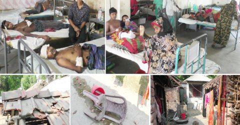 ঝিনাইদহে মাছ ধরাকে কেন্দ্র করে দু'পক্ষের সংঘর্ষে নারীসহ আহত ১৫ জন