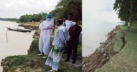 পদ্মা নদীর ভাঙন: ঝুঁকিতে শিলাইদহ কুঠিবাড়িসহ ৬ টি গ্রাম