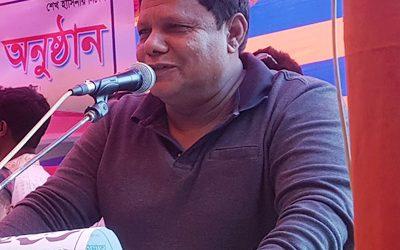 দৌলতপুরে সড়ক সংস্কারে অনিয়মের প্রতিবাদী নেতা মোতাসিম বিল্লাহ লাঞ্চিত ঘটনার বিচার দাবী